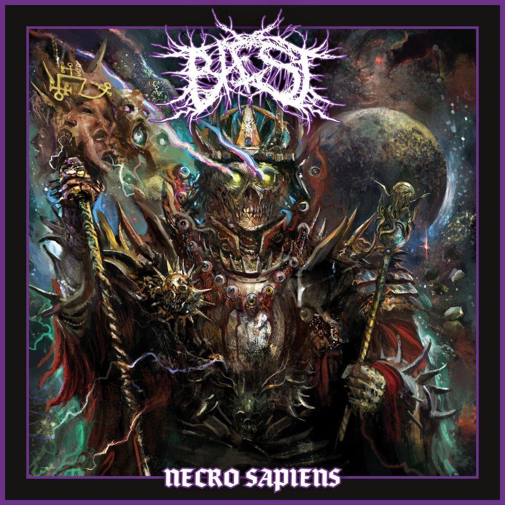 BAEST Necro Sapiens (2021) Death Metal Danemark 1000x133
