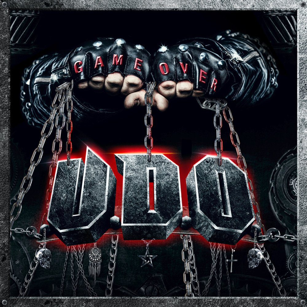 U.D.O Game Over (2021) Heavy Metal Allemagne 1000x136
