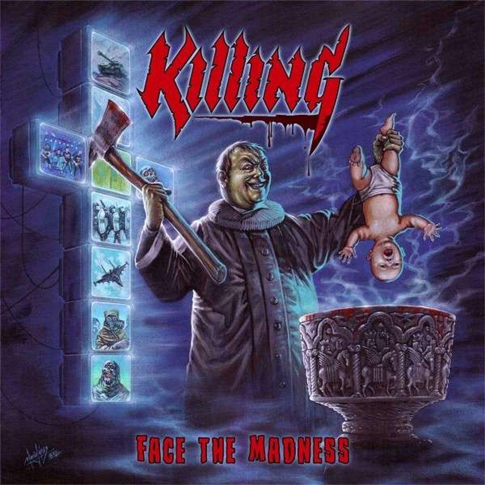 KILLING Face the Madness (2021) Thrash Danemark 1000x137