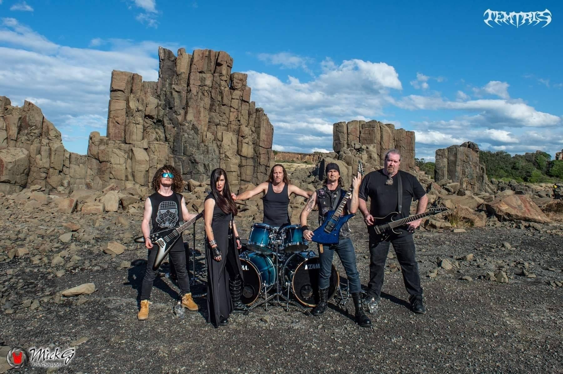 Nouveau clip de TEMTRIS Forever (2020) Heavy Metal Australie 10448910
