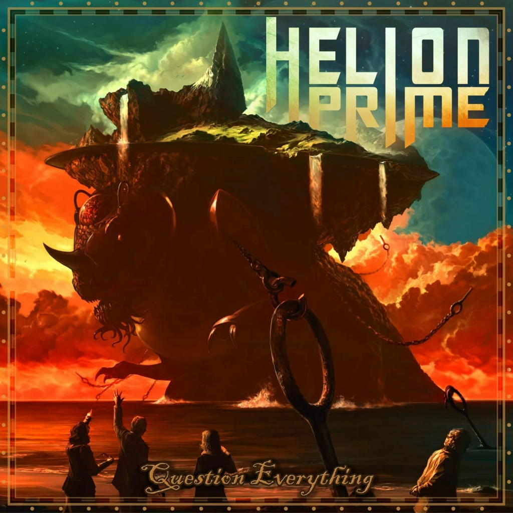 HELION PRIME  Question Everything (2020) Power Metal U.S.A 10490010
