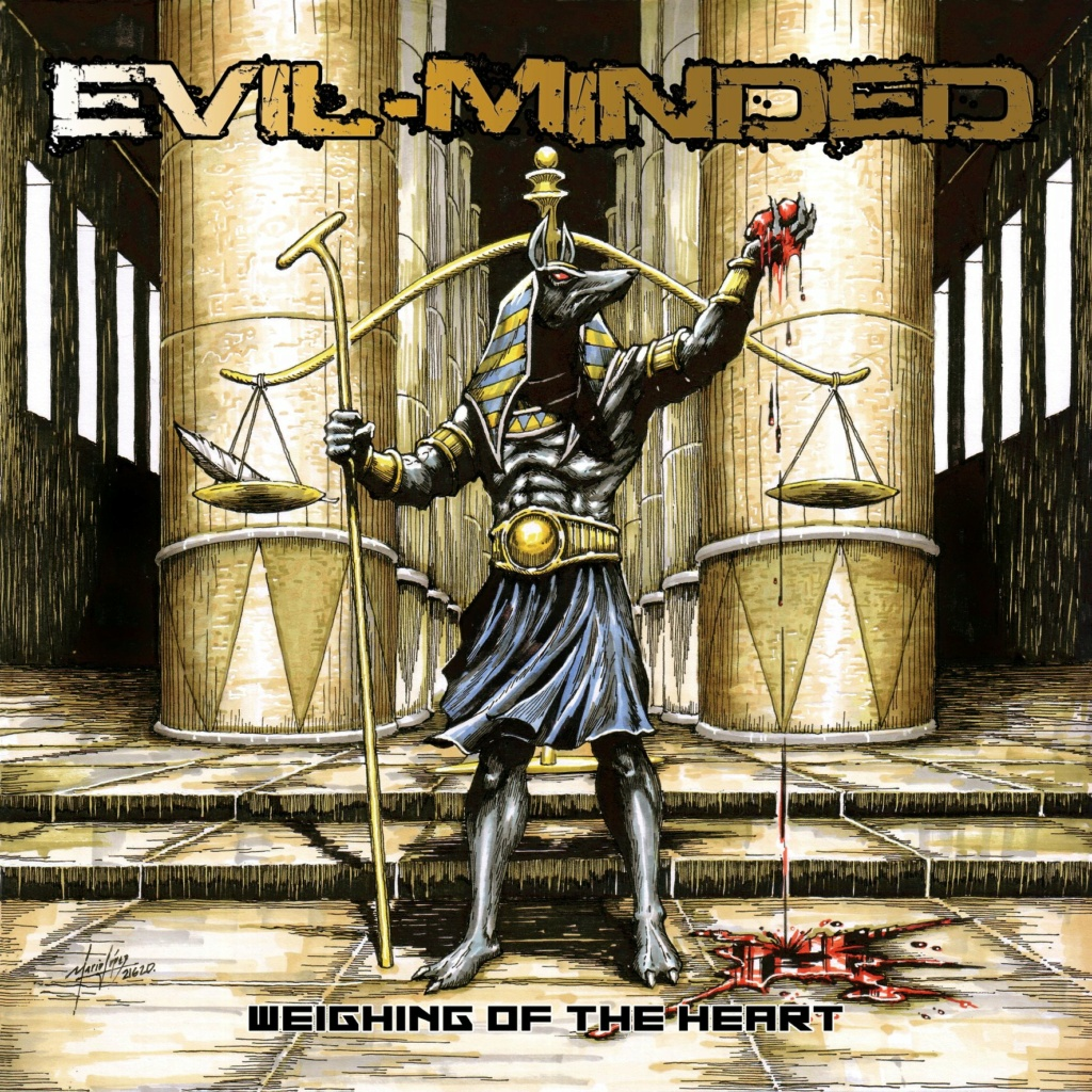 EVIL MINDED Weighing Of The Heart (Démo, 2020) Heavy Metal Toulouse 10653210