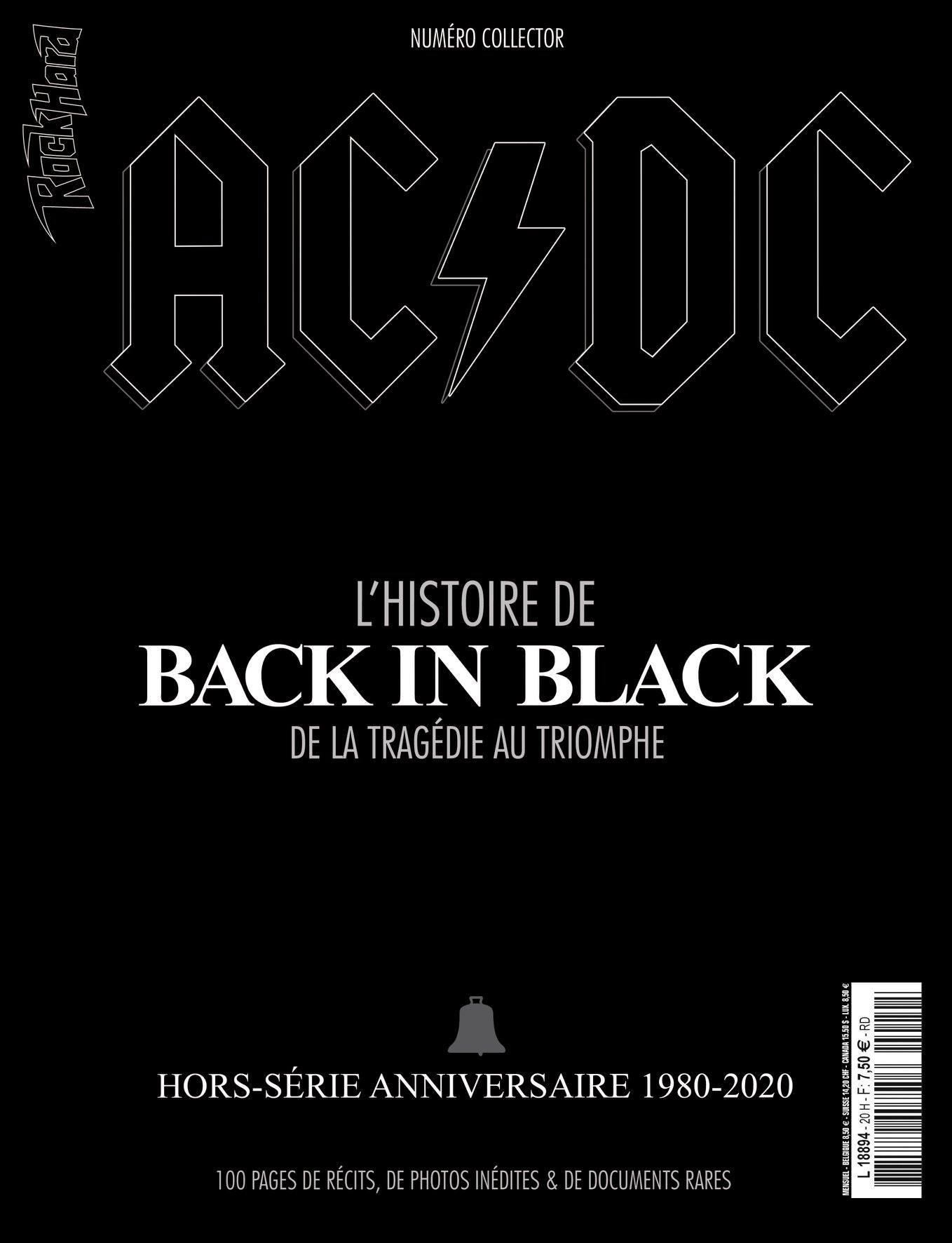 HORS-SÉRIE ROCK HARD AC/DC 'BACK IN BLACK' dans les kiosques ... 11059010