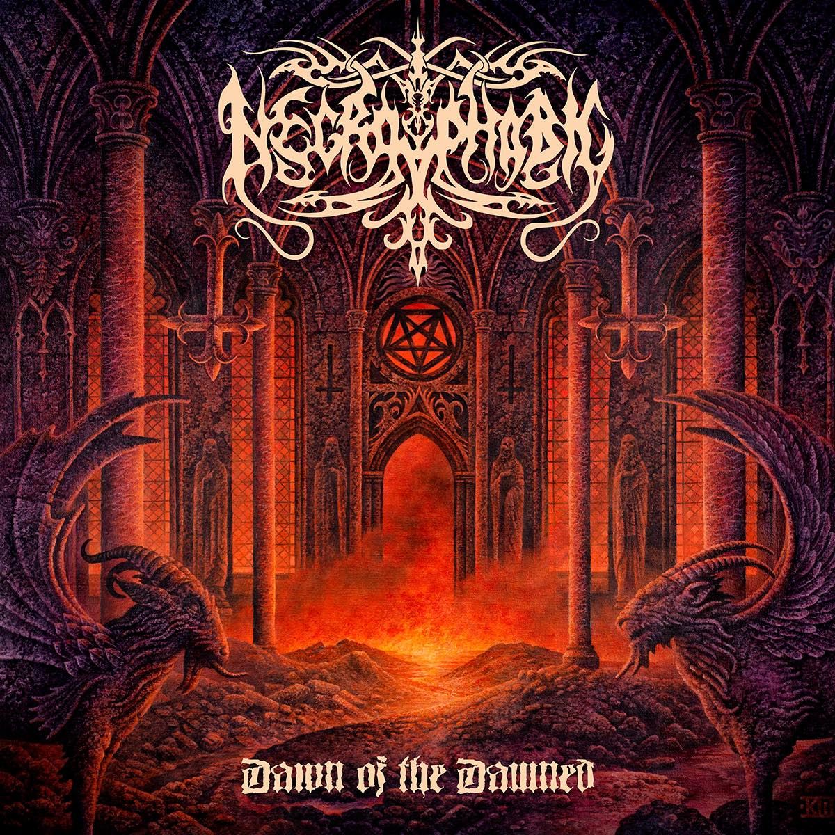 NECROPHOBIC Dawn of the Damned (2020) Death/Black Metal Suède  11155710
