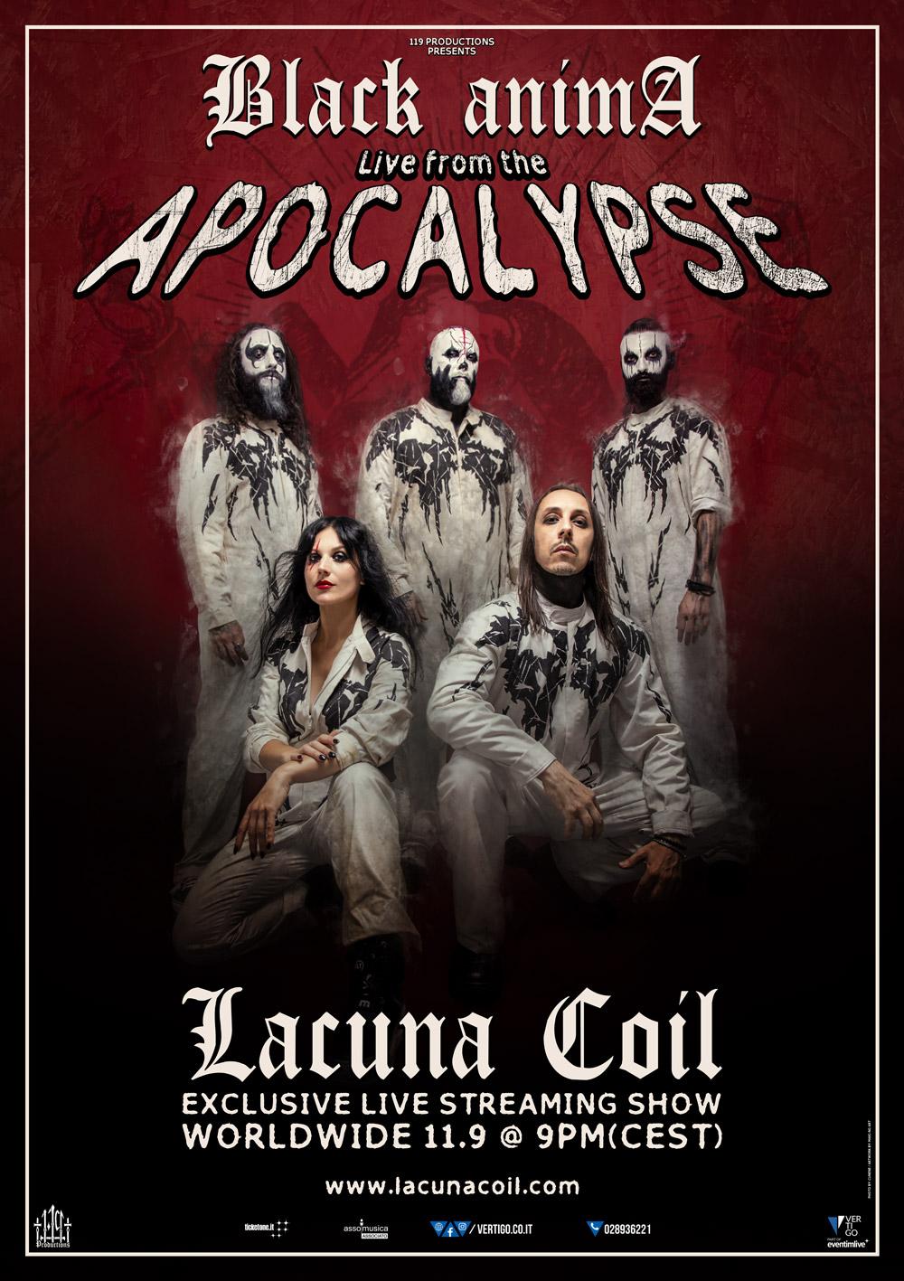 LACUNA COIL Black Anima (2019) Metal Symphonic Italie 11272010