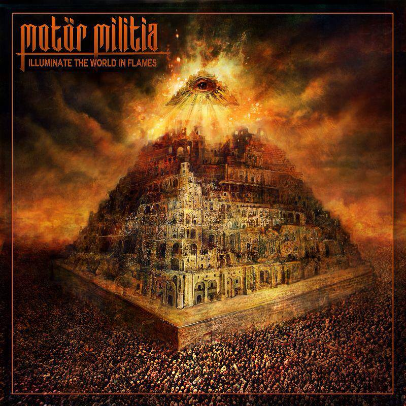 MOTÖR MILITIA World in Flames (2018) Thrash Bahrain  11466310
