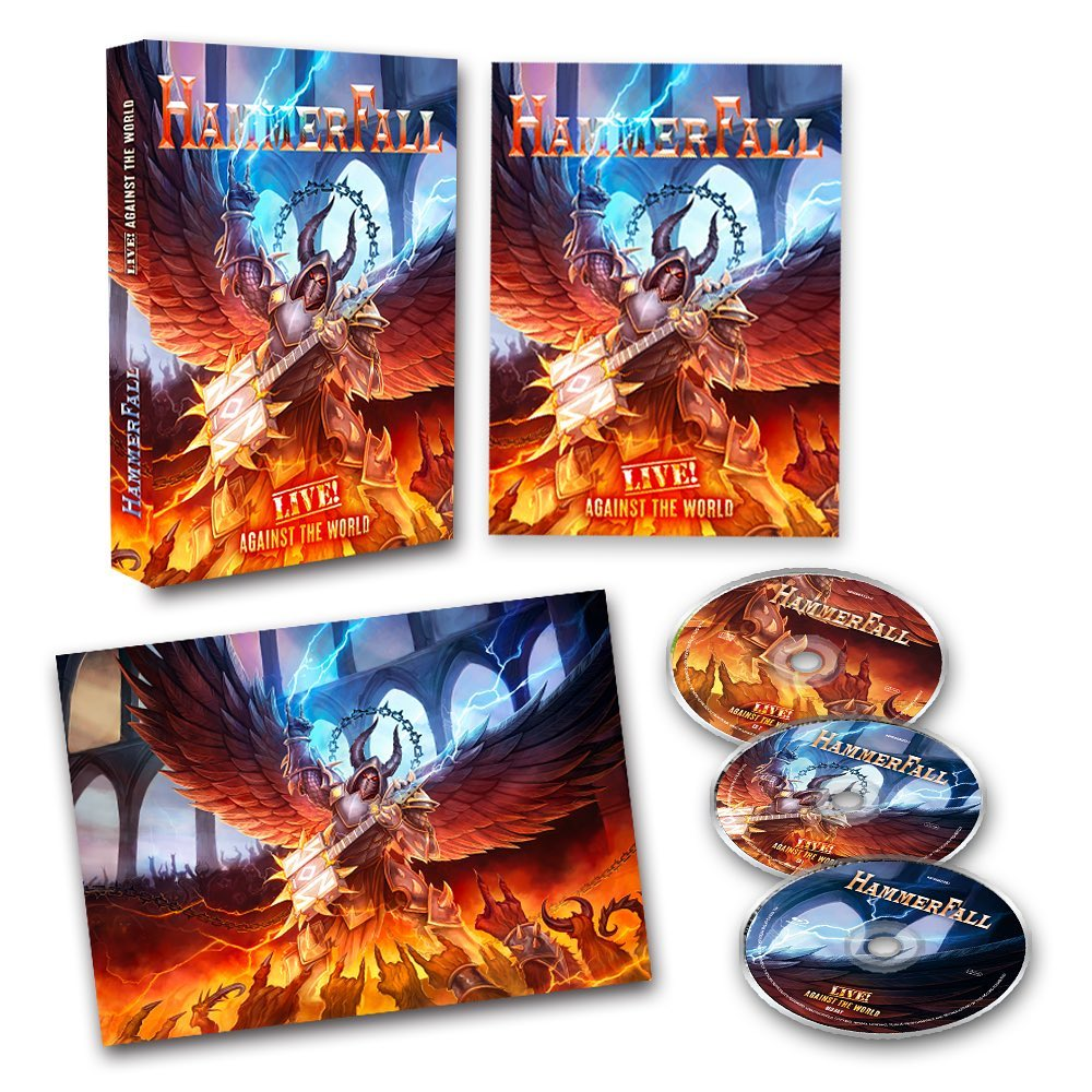 HAMMERFALL Live ! Against The World (2020) Heavy Metal Suède 11738210