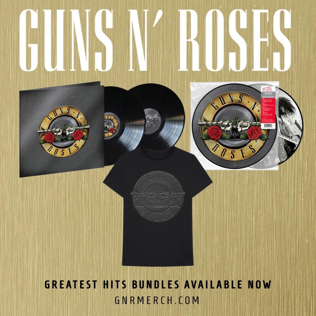 Les plus grands succès de Guns N 'Roses publiés pour la première fois sur vinyle ! 11771910