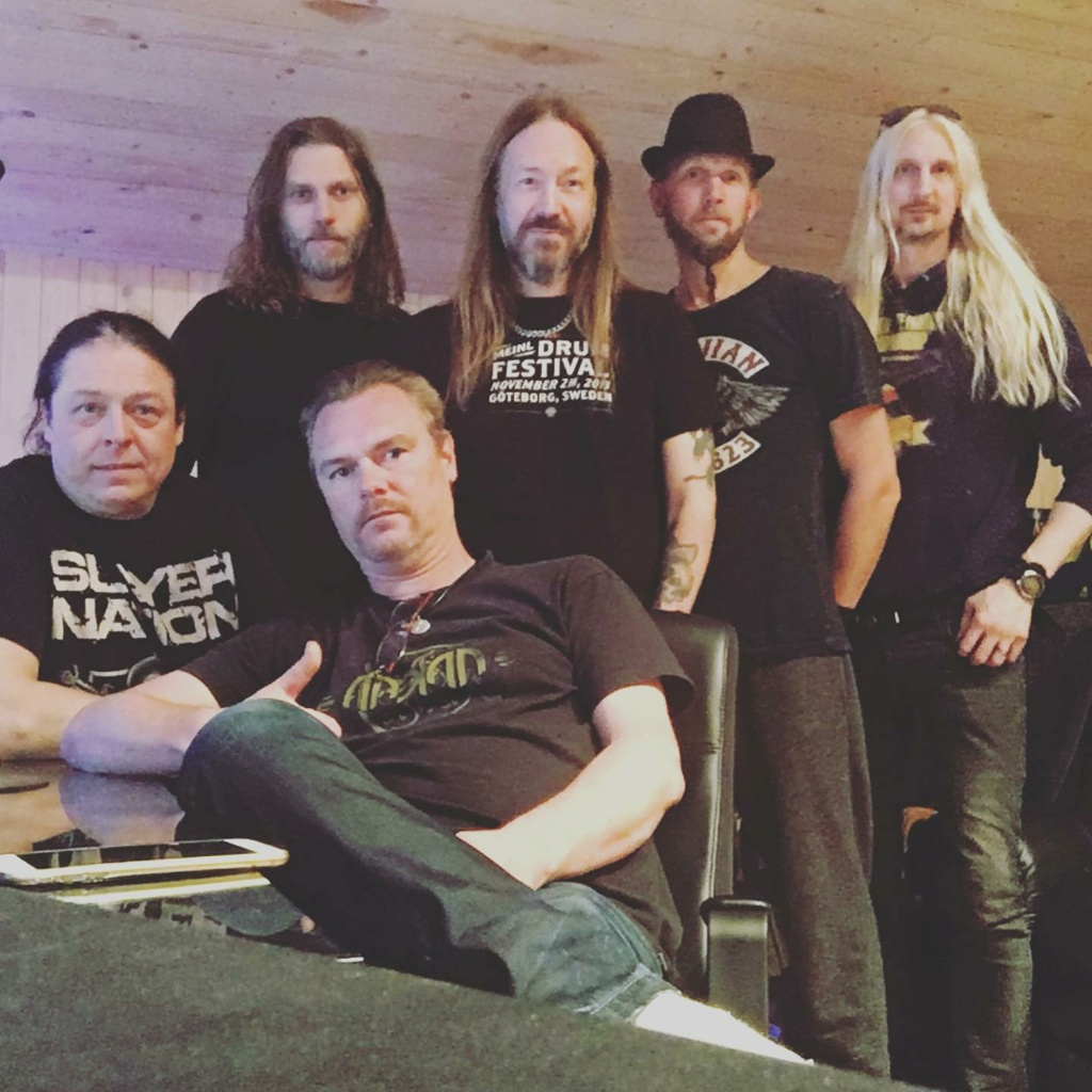 HAMMERFALL Live ! Against The World (2020) Heavy Metal Suède 11879610