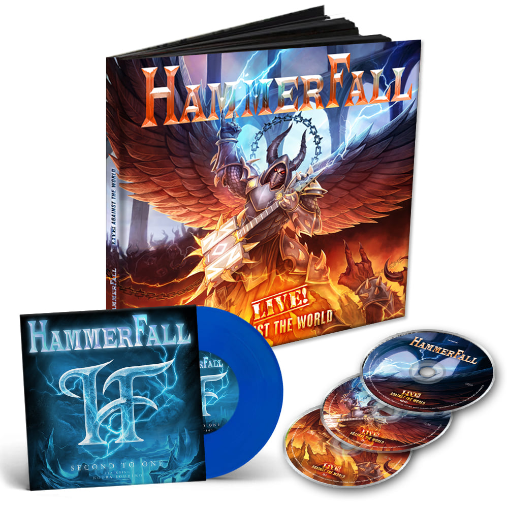 HAMMERFALL Live ! Against The World (2020) Heavy Metal Suède 11914310
