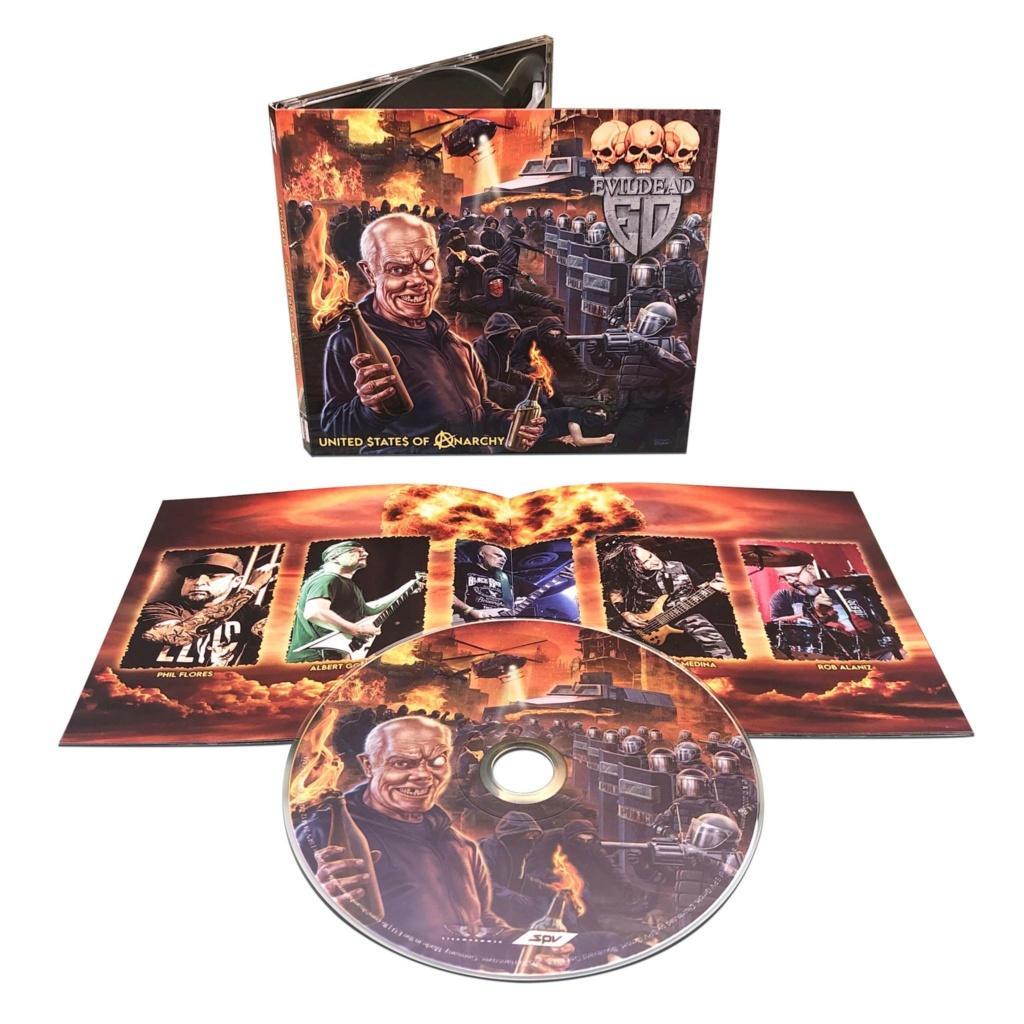 EVIL DEAD United $ tate $ Of Anarchy (2020) Thrash Metal USA 11920010