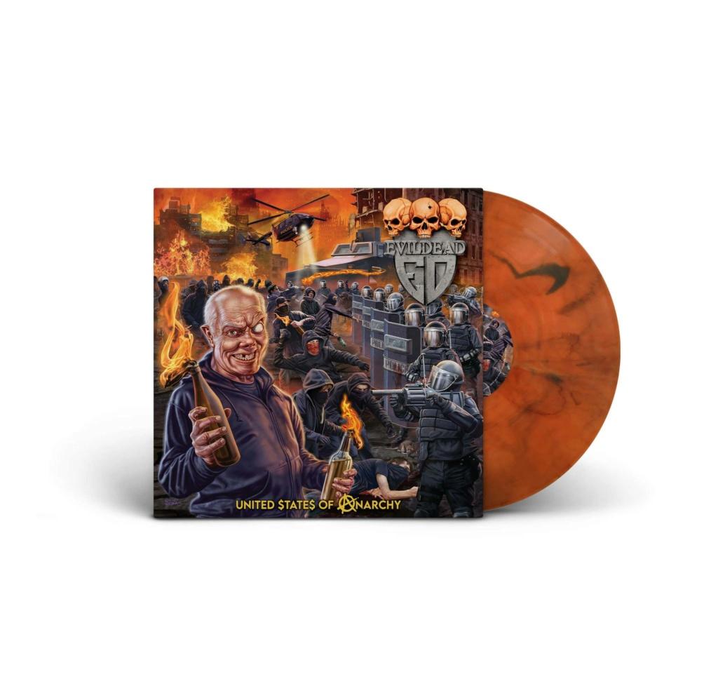 EVIL DEAD United $ tate $ Of Anarchy (2020) Thrash Metal USA 11947110