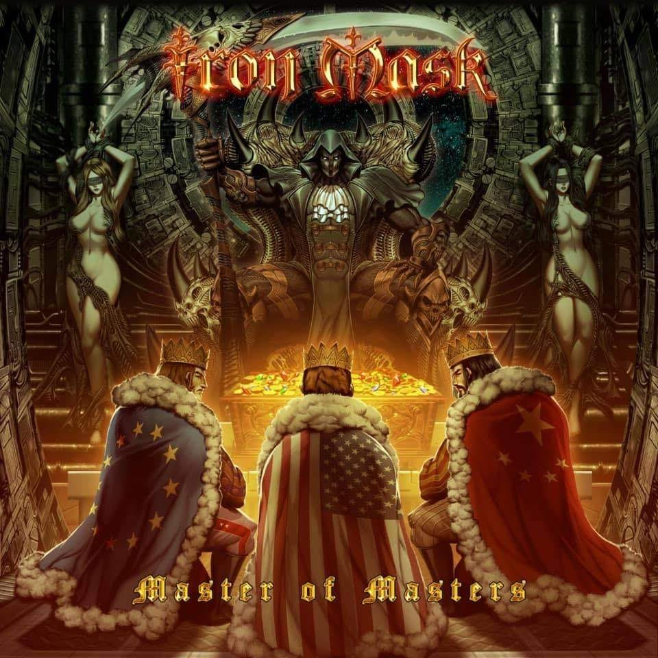 IRON MASK Master Of Masters (2020) Neo-Classical Power Metal BELGIQUE 11970810