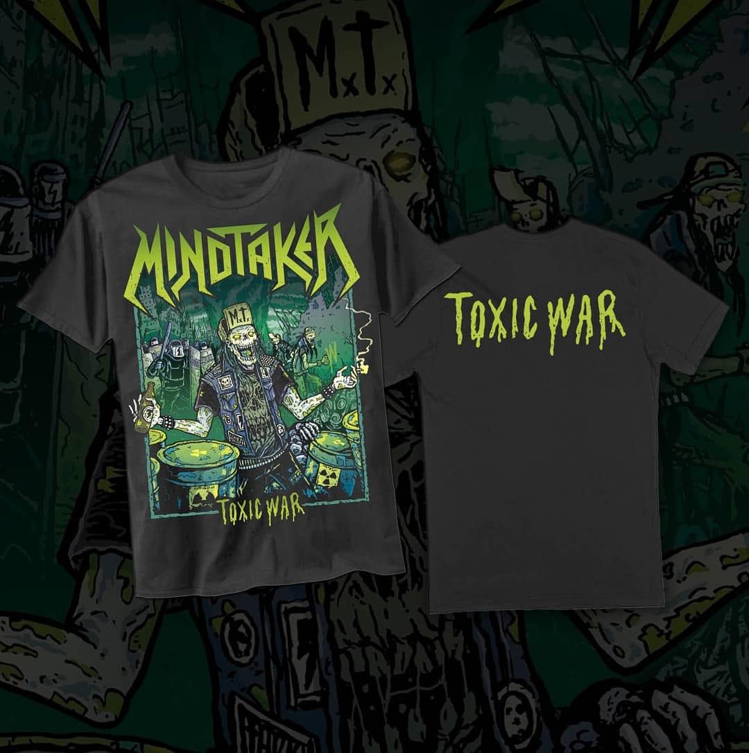 MINDTAKER Toxic War (2020) Thrash Metal PORTUGAL 12092510