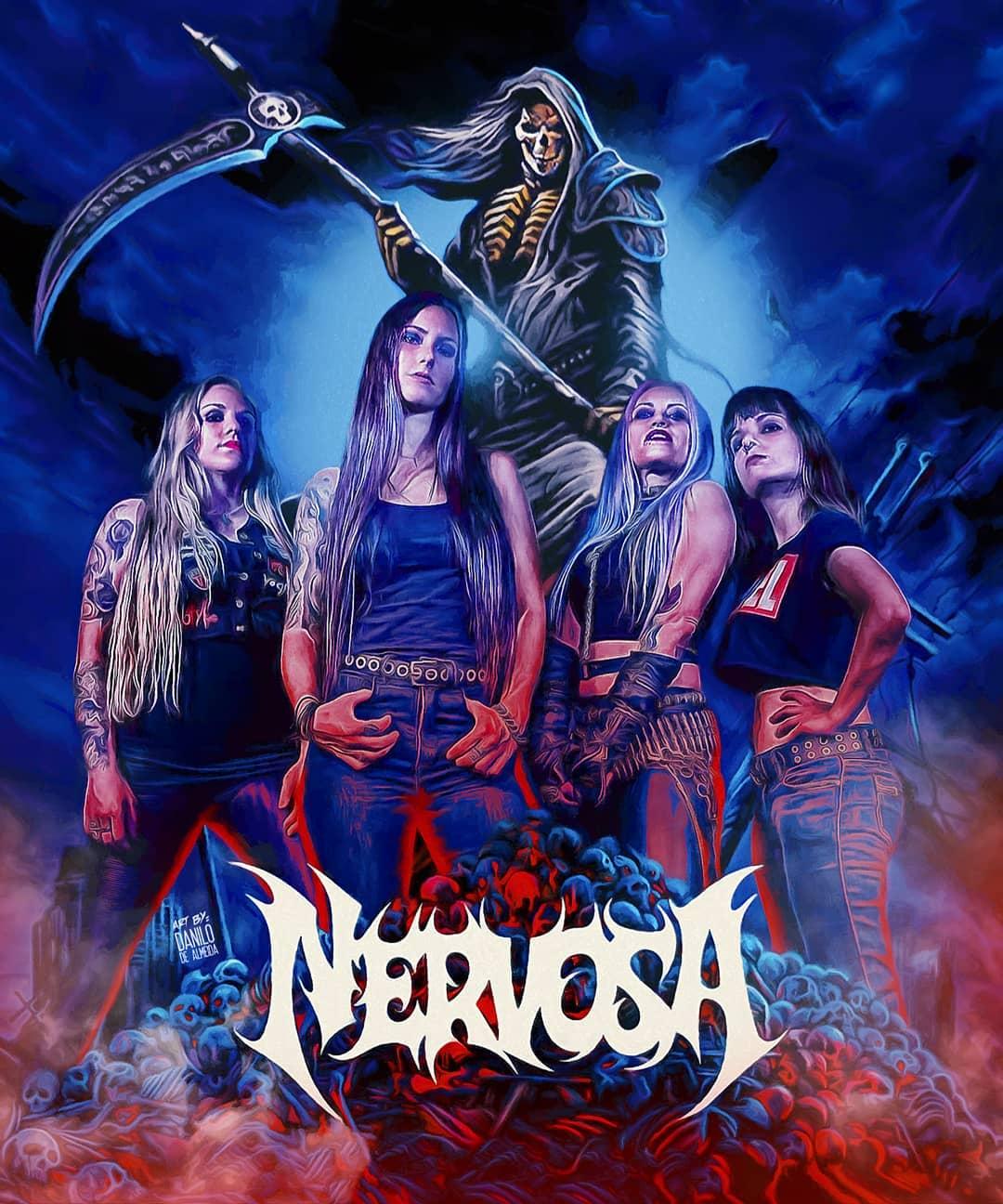 NERVOSA Perpetual Chaos (2021) Thrash Metal Brésil 12364510