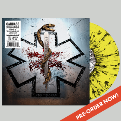 CARCASS Despicable (2020) E.P Death Angleterre 12472510