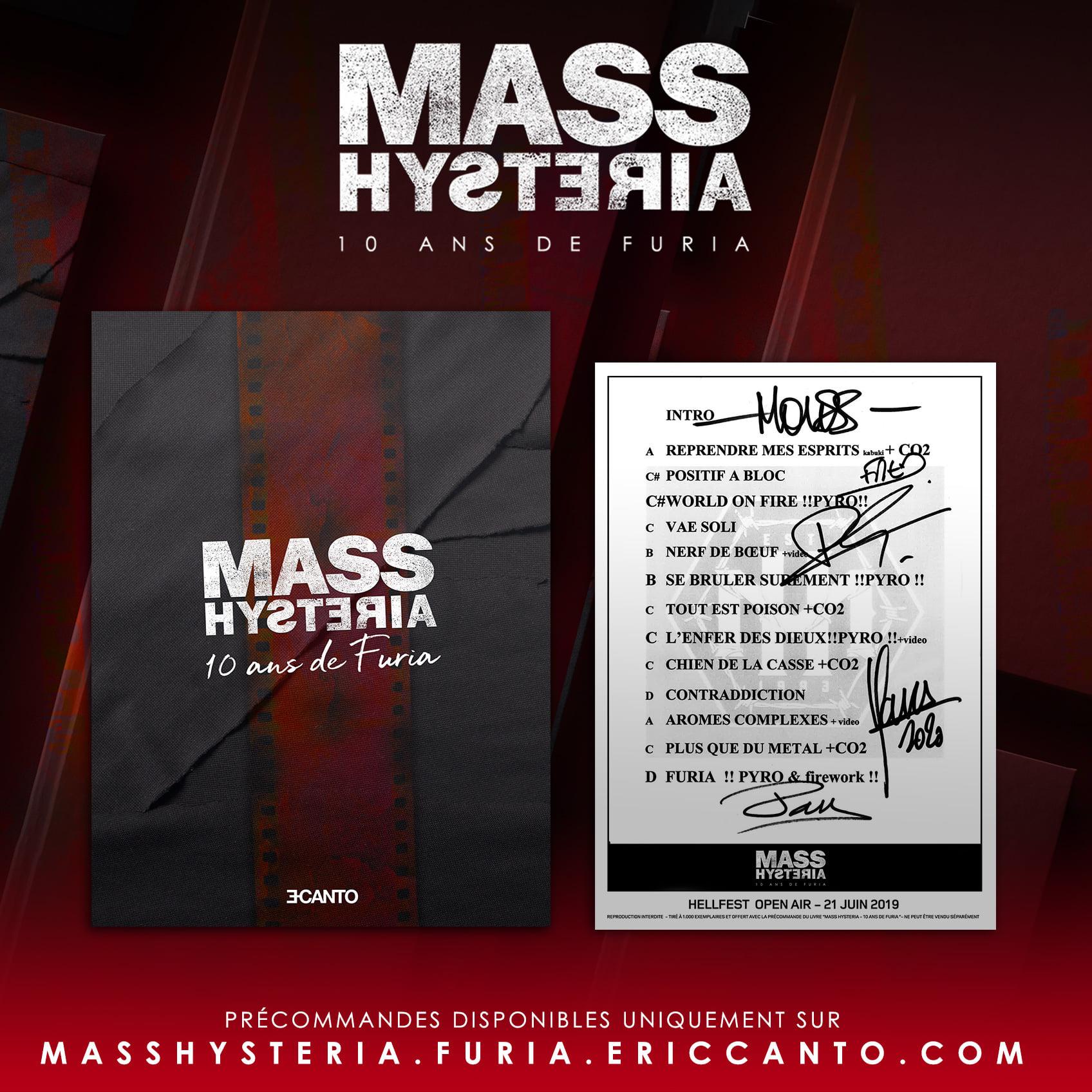 MASS HYSTERIA Un livre, intitulé Mass Hysteria 7 decembre 2020 12578710
