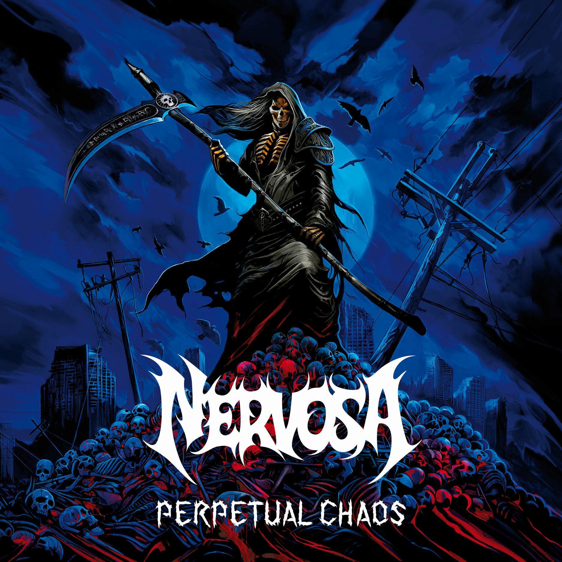NERVOSA Perpetual Chaos (2021) Thrash Metal Brésil 12595710