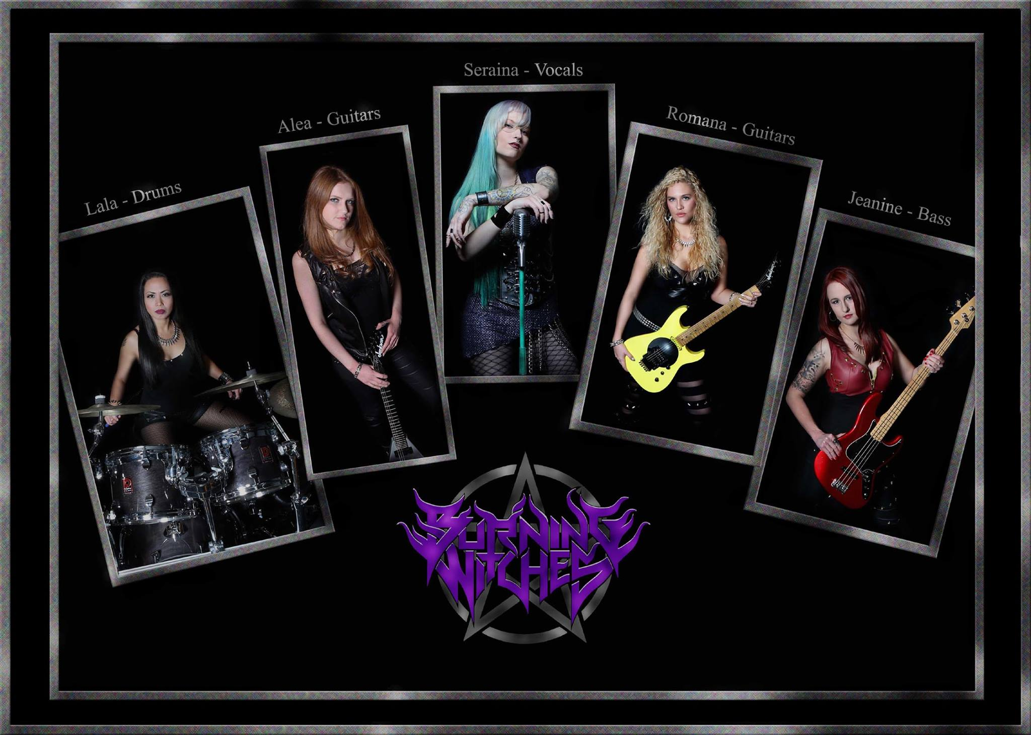 BURNING WITCHES Hexenhammer (2018) Heavy Metal SUISSE 12711010