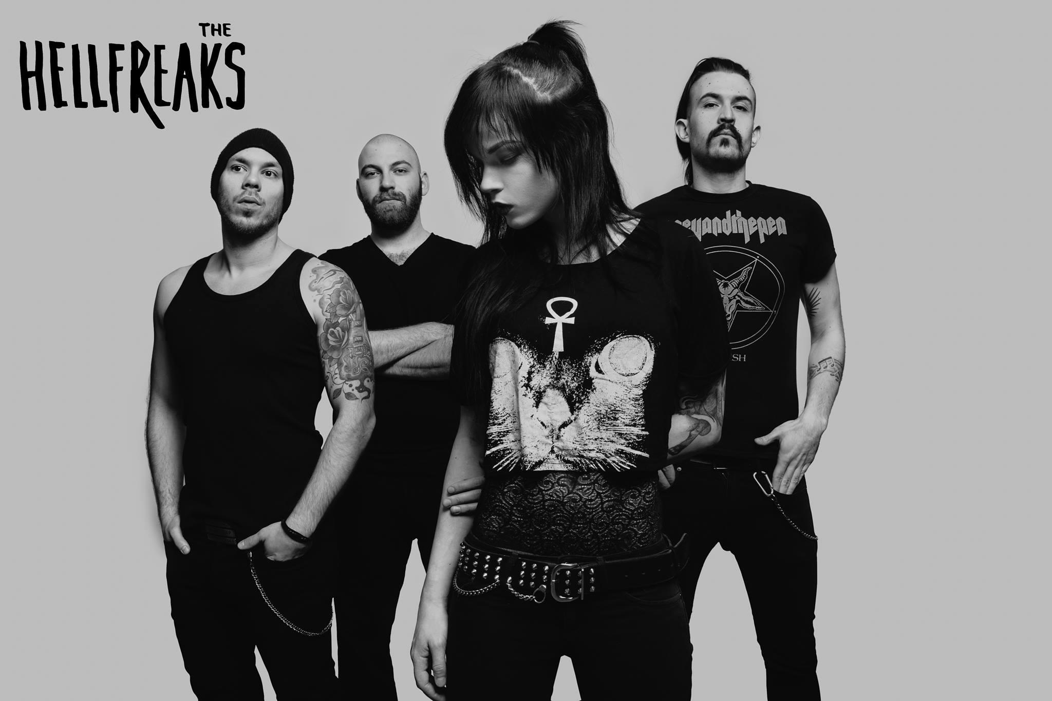 THE HELLFREAKS : deux nouveaux clips pour présenter son album au monde. 12829510