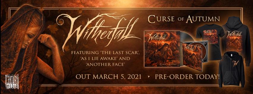 "WITHERFALL(Dark Progressive Metal) ""  Curse Of Autumn "" Pour Mars  13635910"