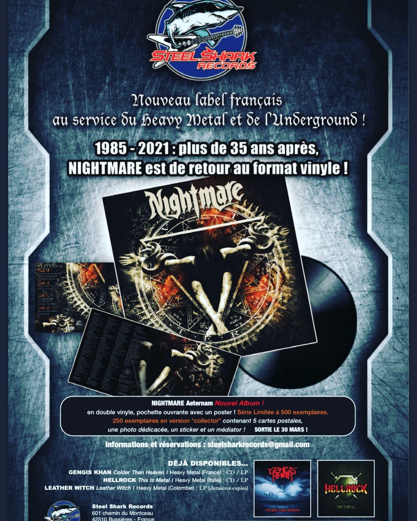 NIGHTMARE Aeternam (2020) Heavy Metal  14015710