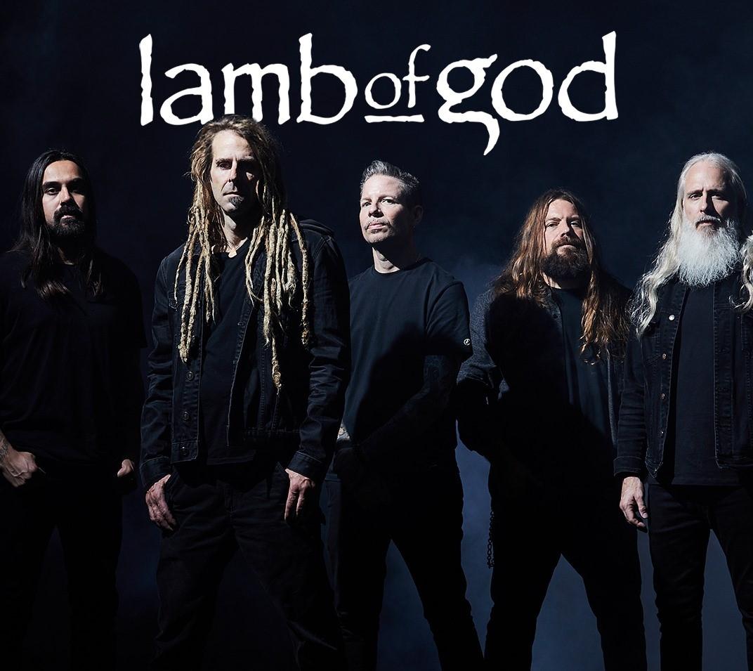LAMB OF GOD réédition (2 CD + 1 DVD) de l'album éponyme le 26 mars via Epic Records 14520910
