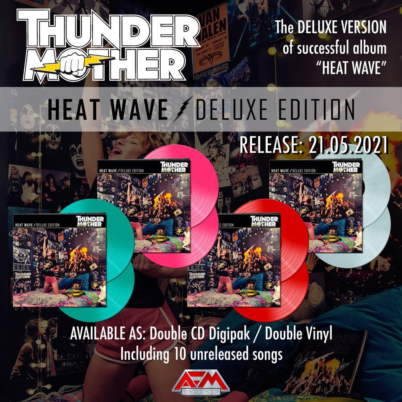 THUNDERMOTHER Heat Wave (2021) Hard Rock Suède 14927910