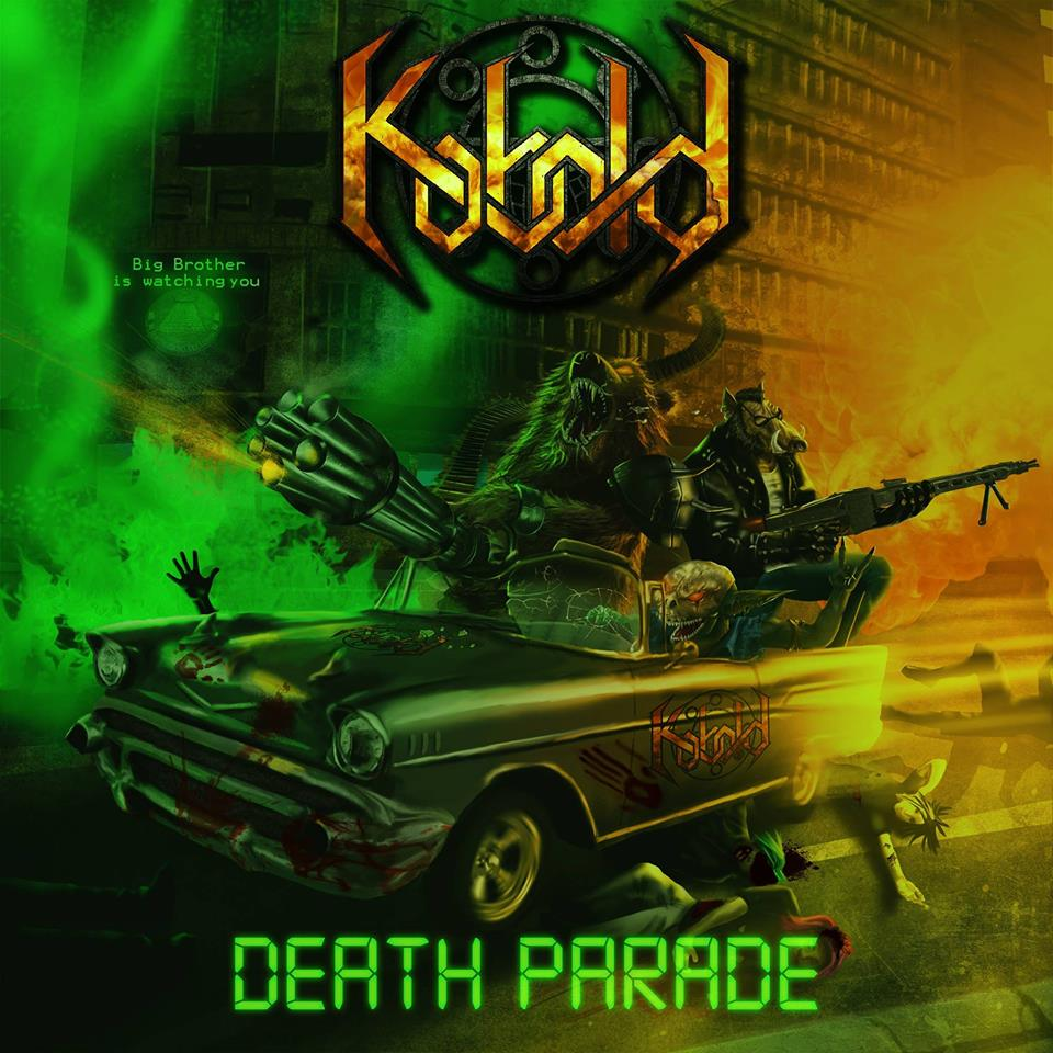 KOBOLD Death Parade (2017) Speed Metal / Thrash Metal SERBIE 14956610