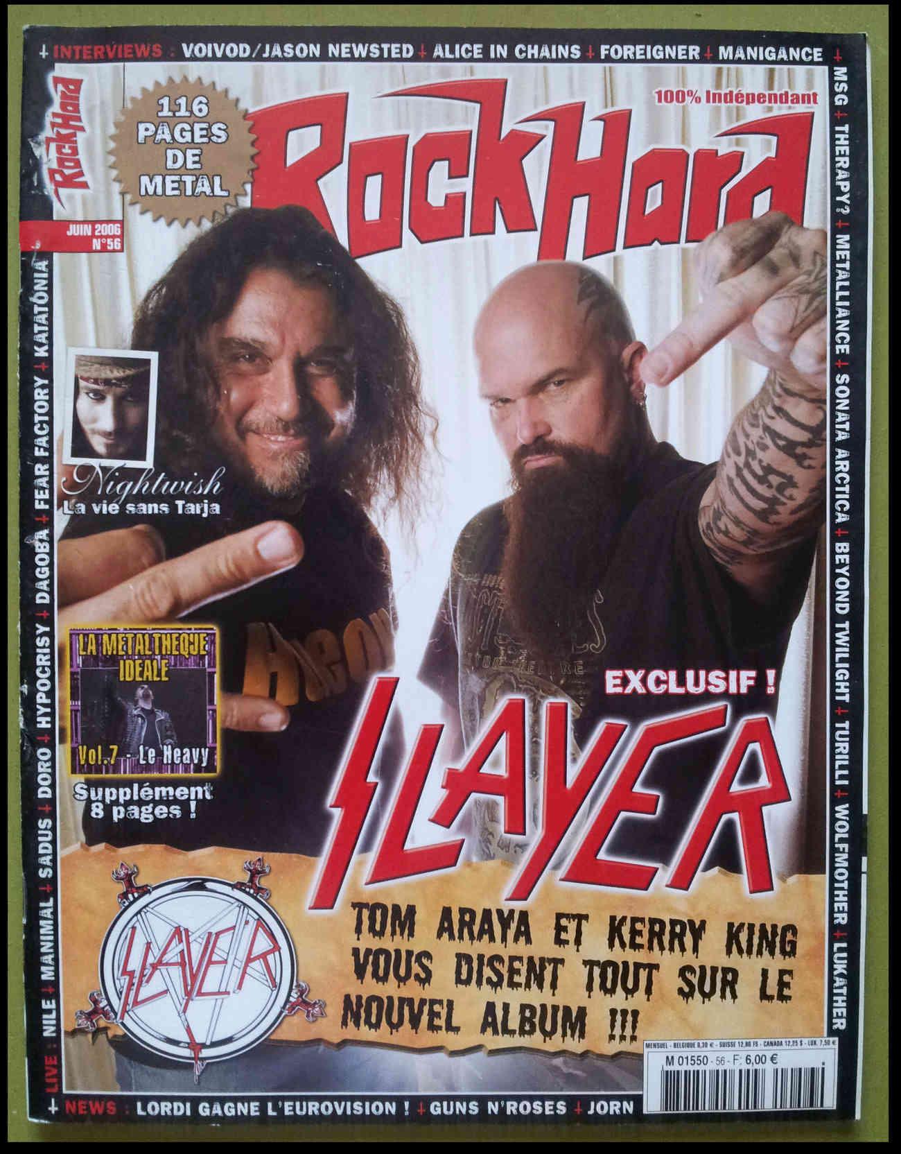 Interview MANIGANCE sur ROCK HARD n°56 JUIN 2006 (Archive) 151