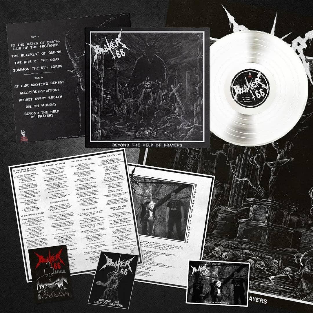 BUNKER 66 Beyond the Help of Prayers (2021) Blackened Thrash Metal ITALIE 15432010