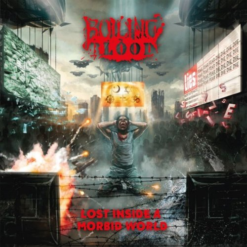 BOILING BLOOD Lost Inside A Morbid World (2019) Thrash Allemagne 15634110