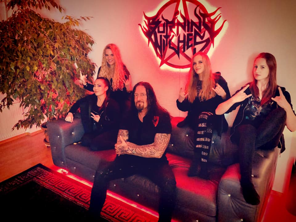 BURNING WITCHES (Heavy Metal ) - The Witch Of The North, le 28 Mai 2021 15764610