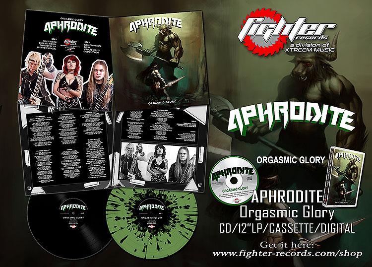 APHRODITE Orgasmic Glory (2021) Speed Metal CANADA 15981410