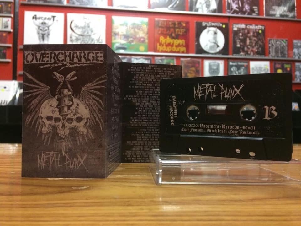 OVERCHARGE Metalpunx (2020) Metal Punk ITALIE 16309910