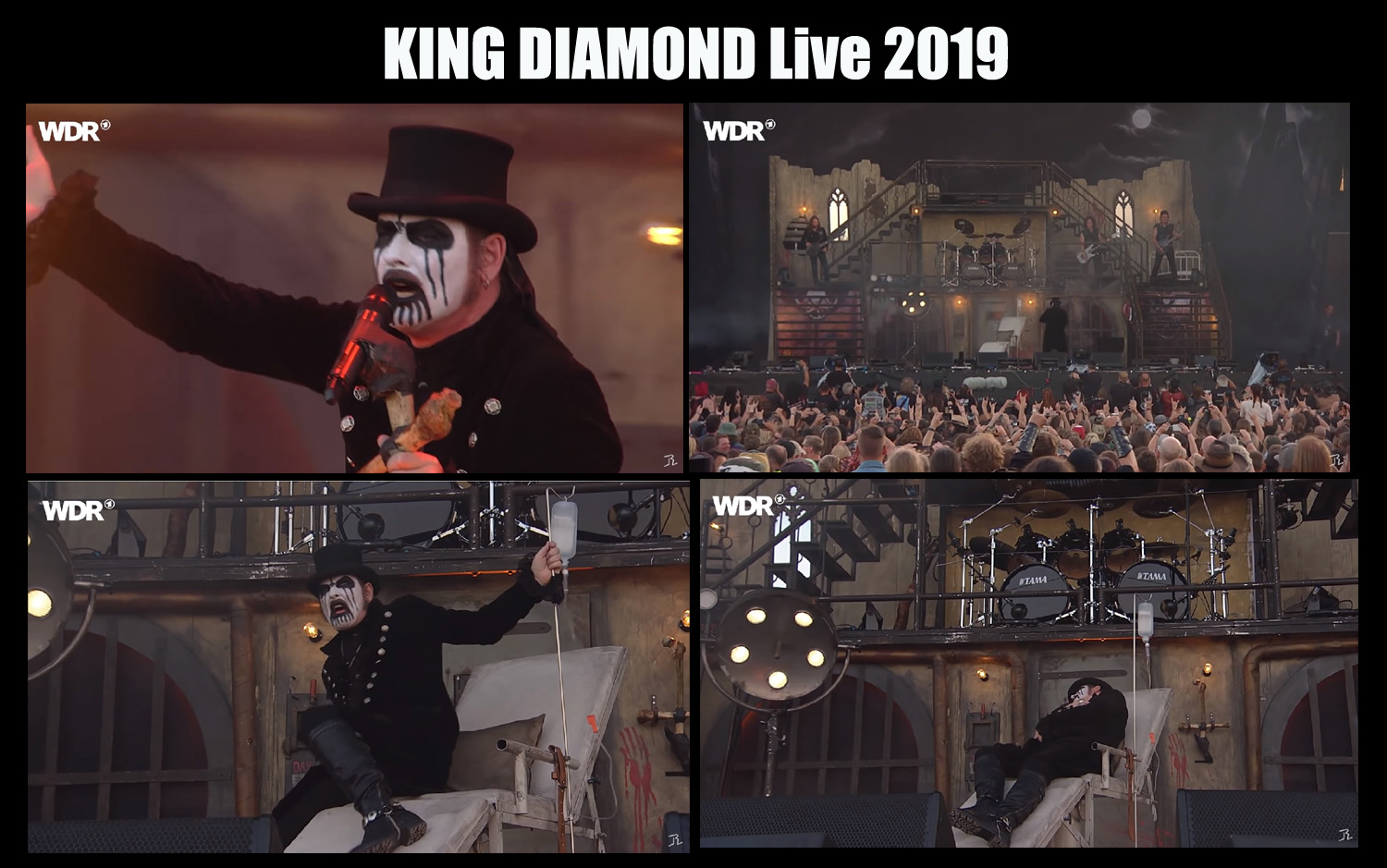 KING DIAMOND live At Rockpalast 2019 (Live Complet) 166