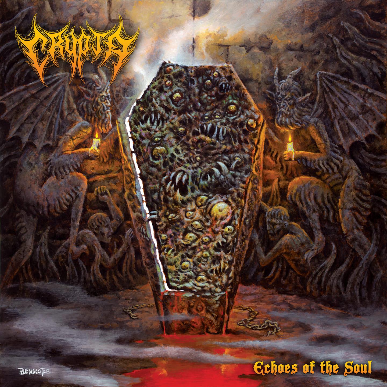 CRYPTA Echoes Of The Soul (2021) Death Metal Brésil 17001210