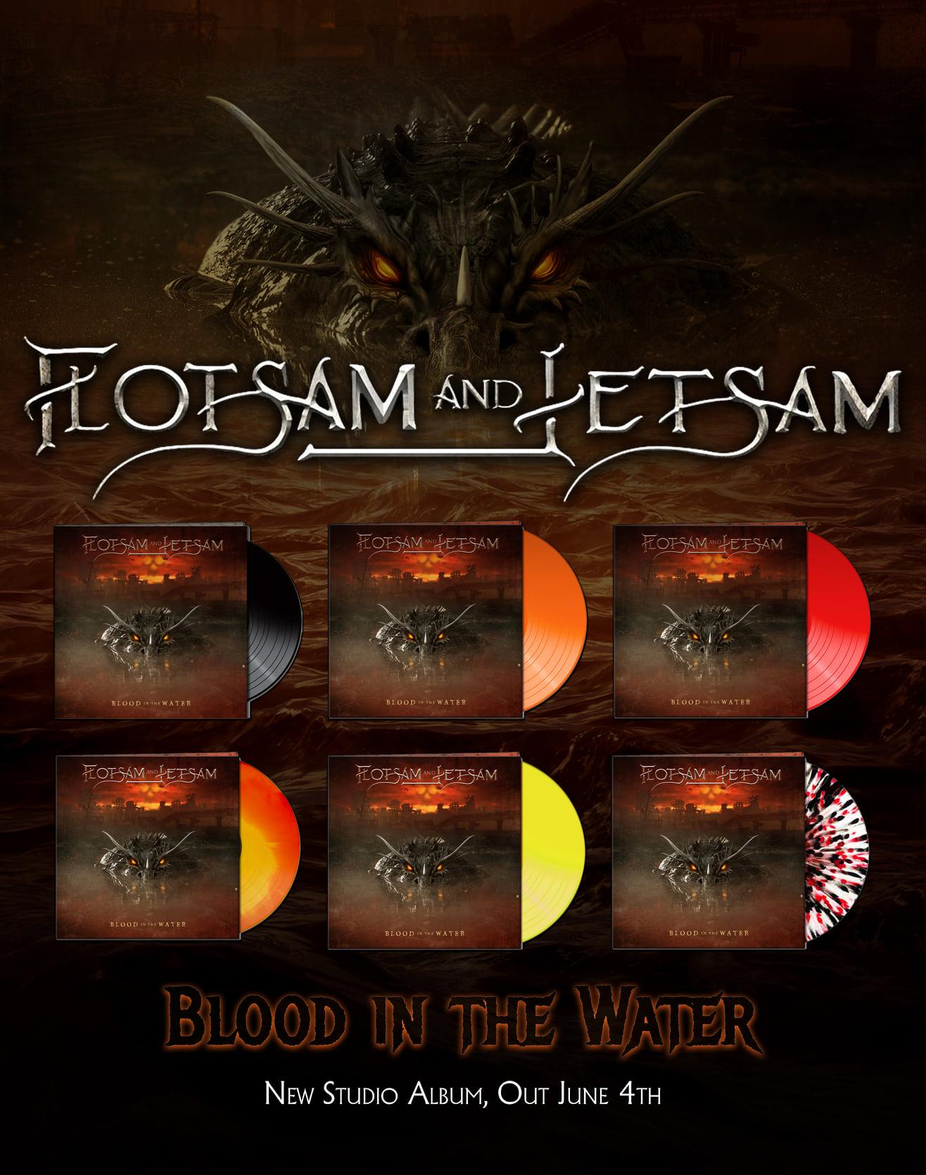 FLOTSAM et JETSAM Blood In The Water (2021) Heavy/Speed U.S.A 17743810