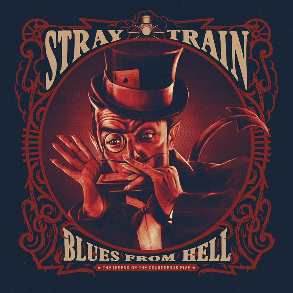 STRAY TRAIN Blues From Hell (2018) Heavy Blue SLOVENIE 17795710