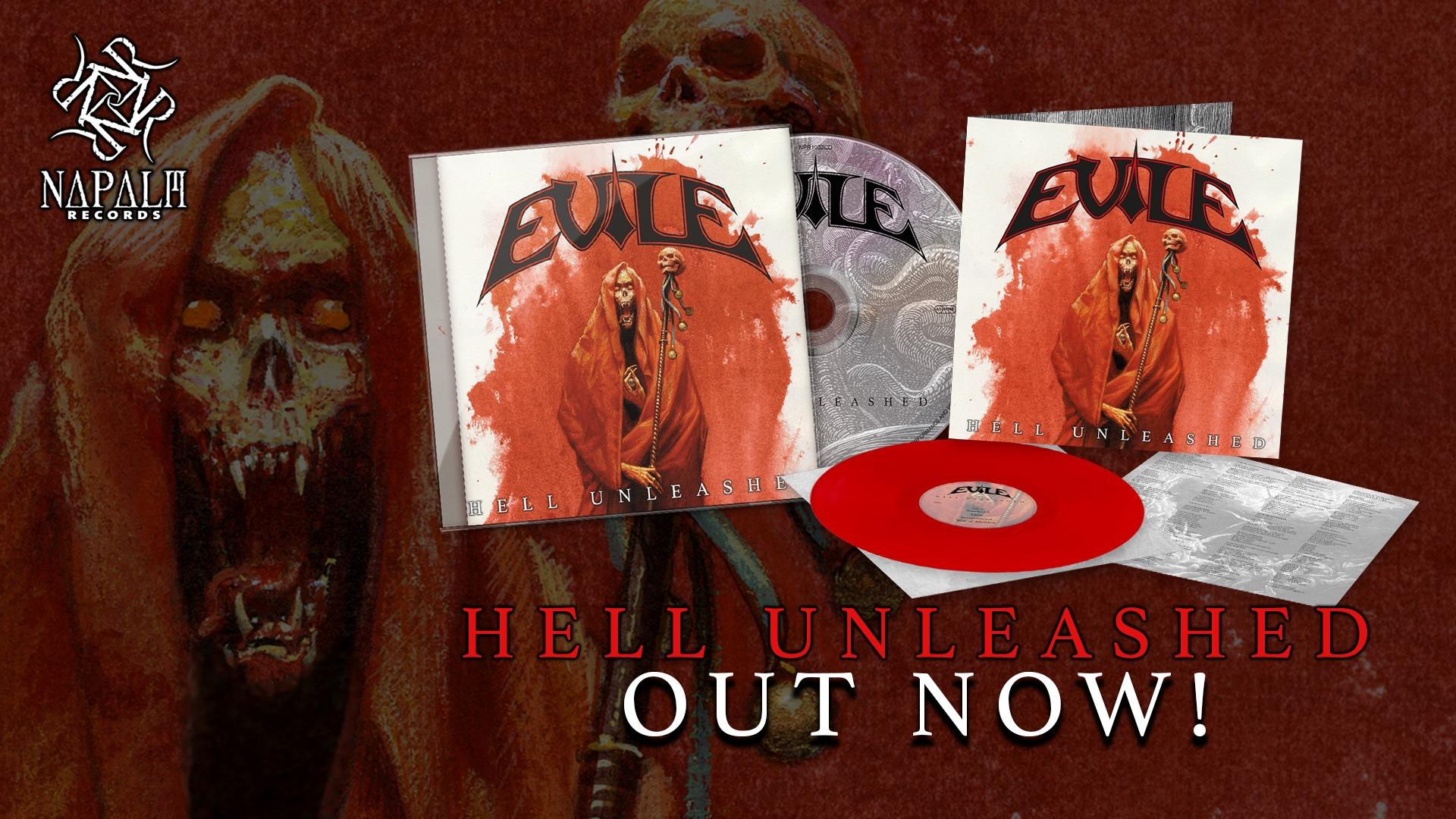EVILE Hell Unleashed (2021) Thrash Angleterre 18087710