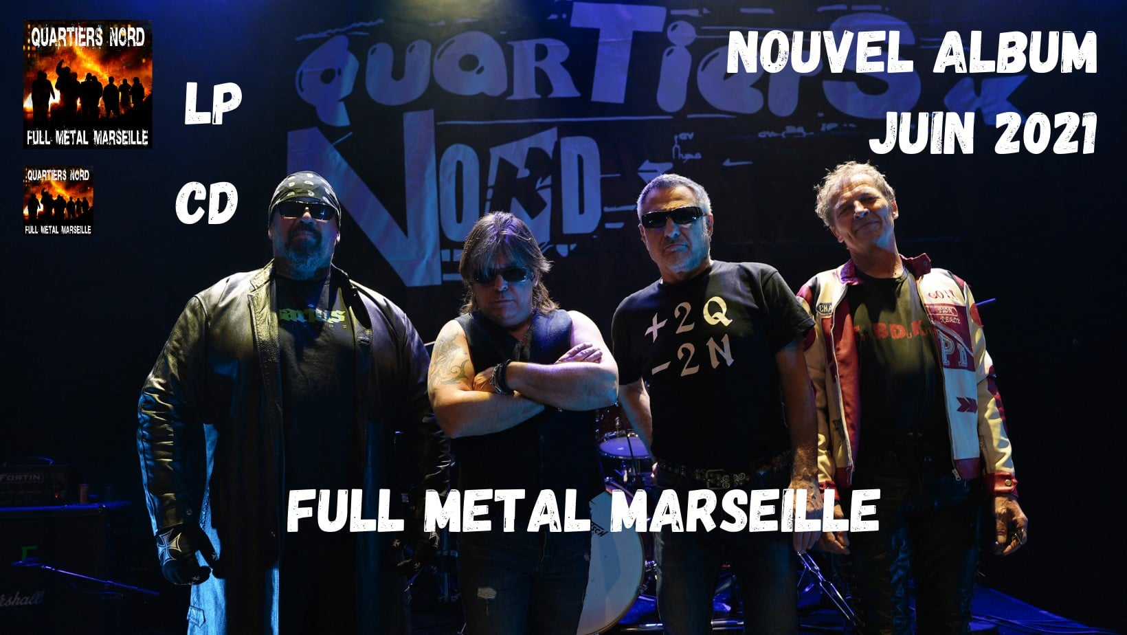QUARTIERS NORD Full Métal Marseille (2021) Hard-Rock Marseille 19014210