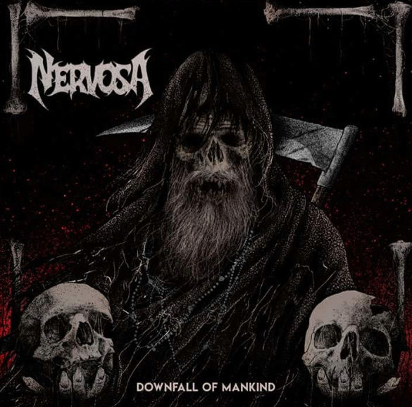 NERVOSA Downfall Of Mankind (2018) Thrash Brésil 2018-010