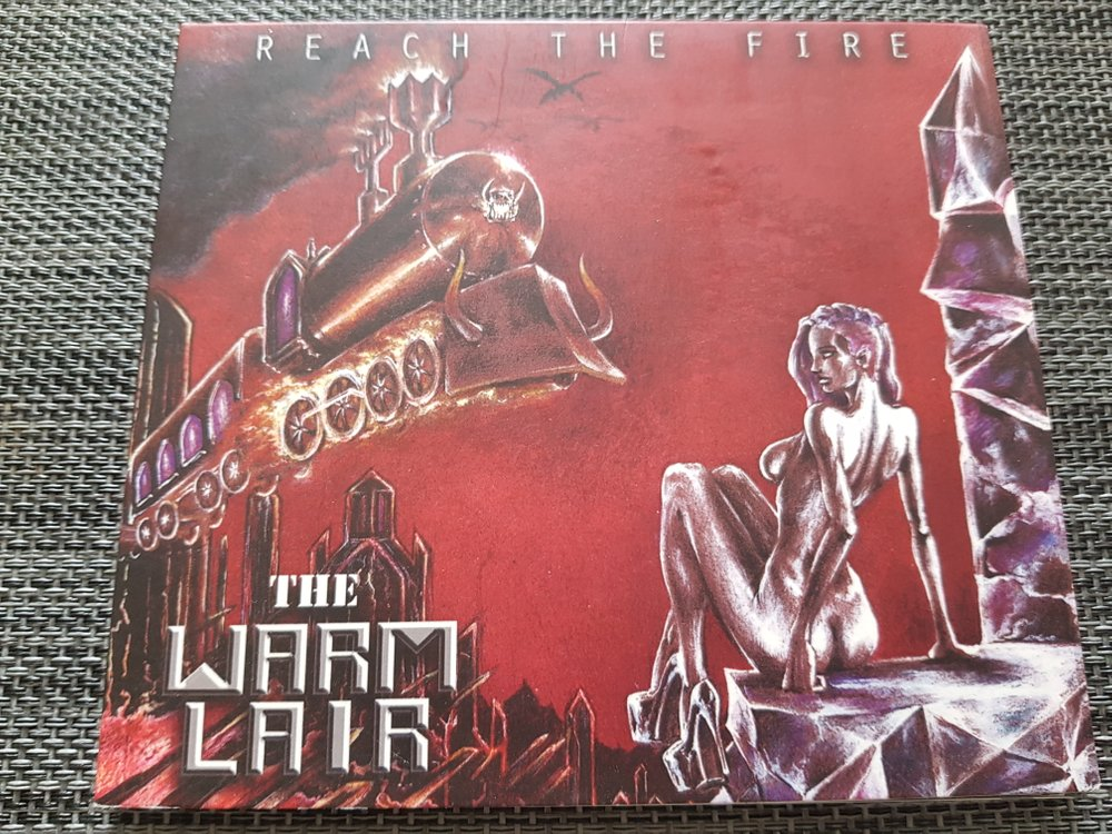 THE WARM LAIR Reach The Fire (2018) E.P Hard Rock  20180514