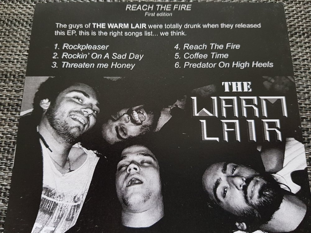 THE WARM LAIR Reach The Fire (2018) E.P Hard Rock  20180516
