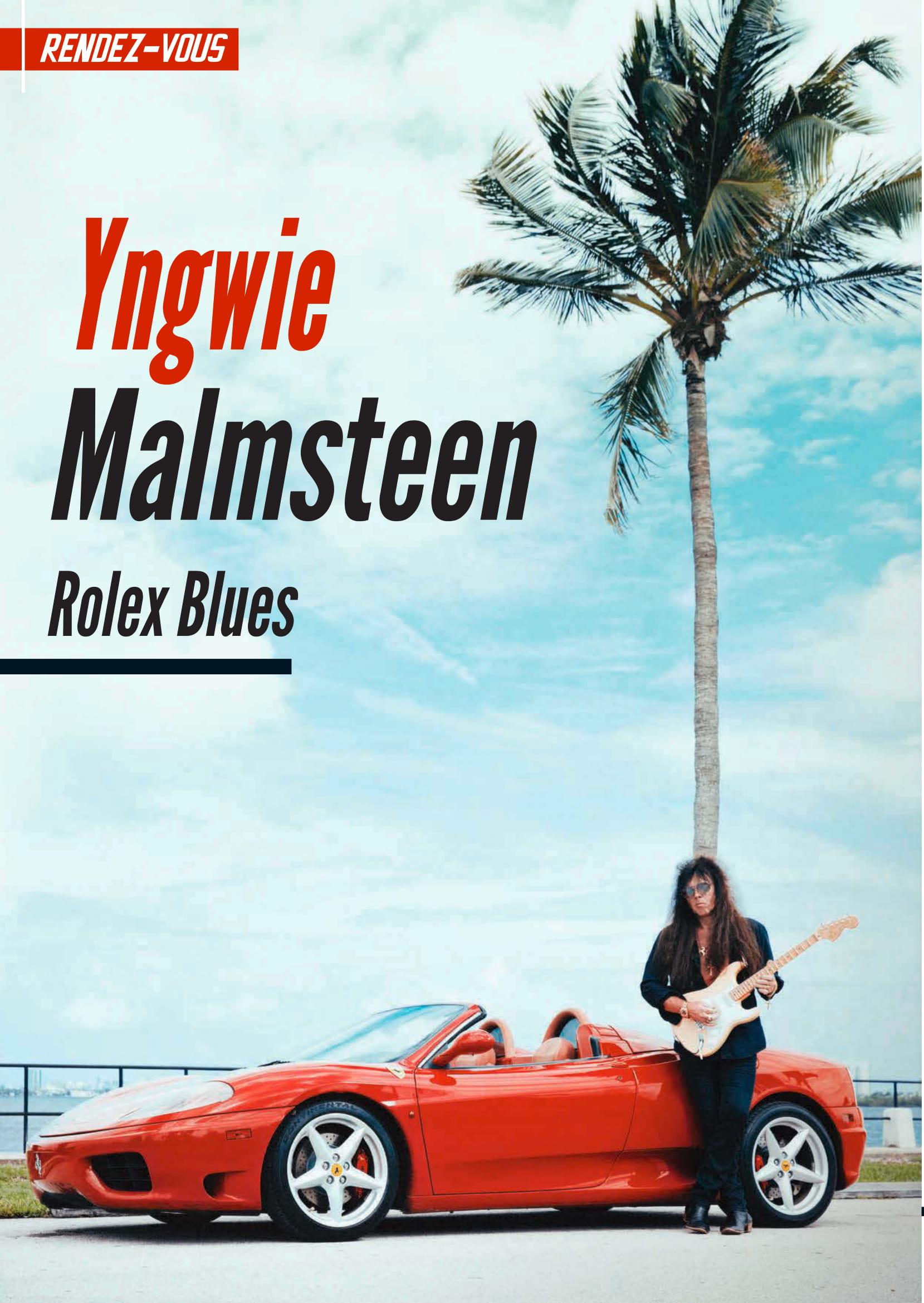 Yngwie Malmsteen fracasse ses guitares ... 2019-015