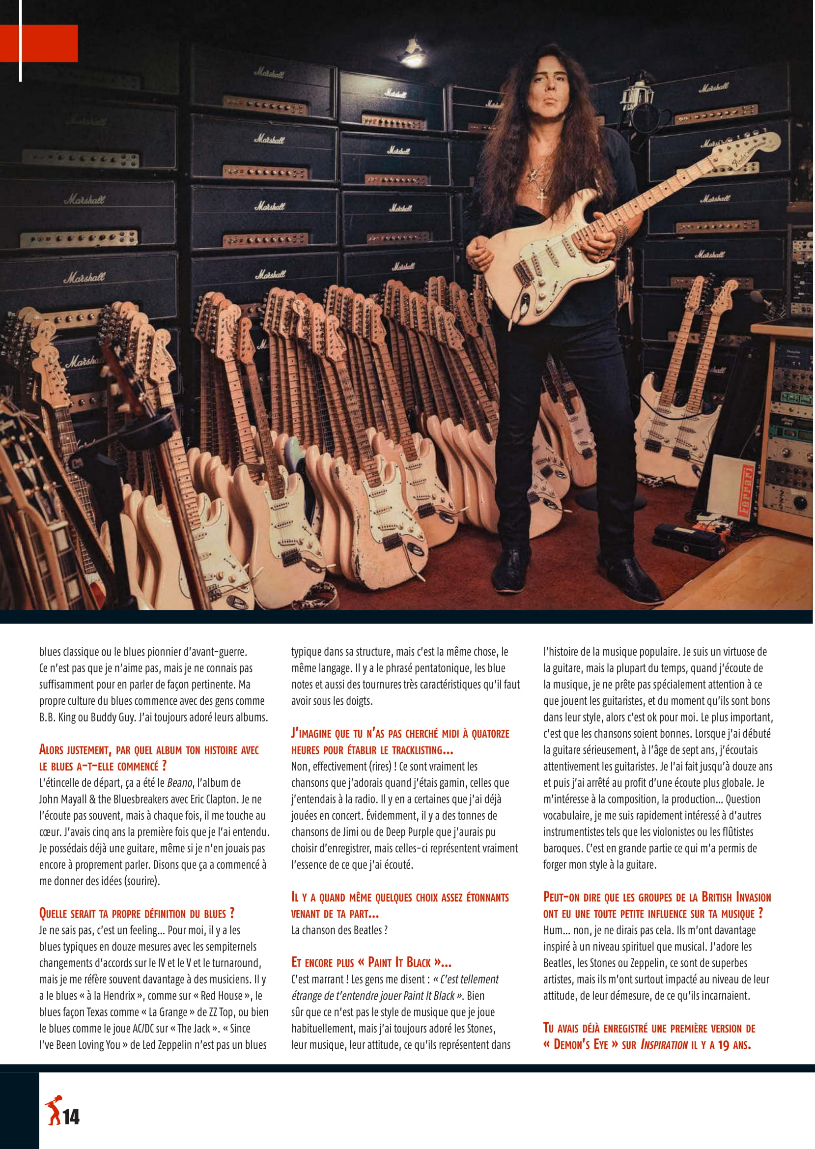 Yngwie Malmsteen fracasse ses guitares ... 2019-017