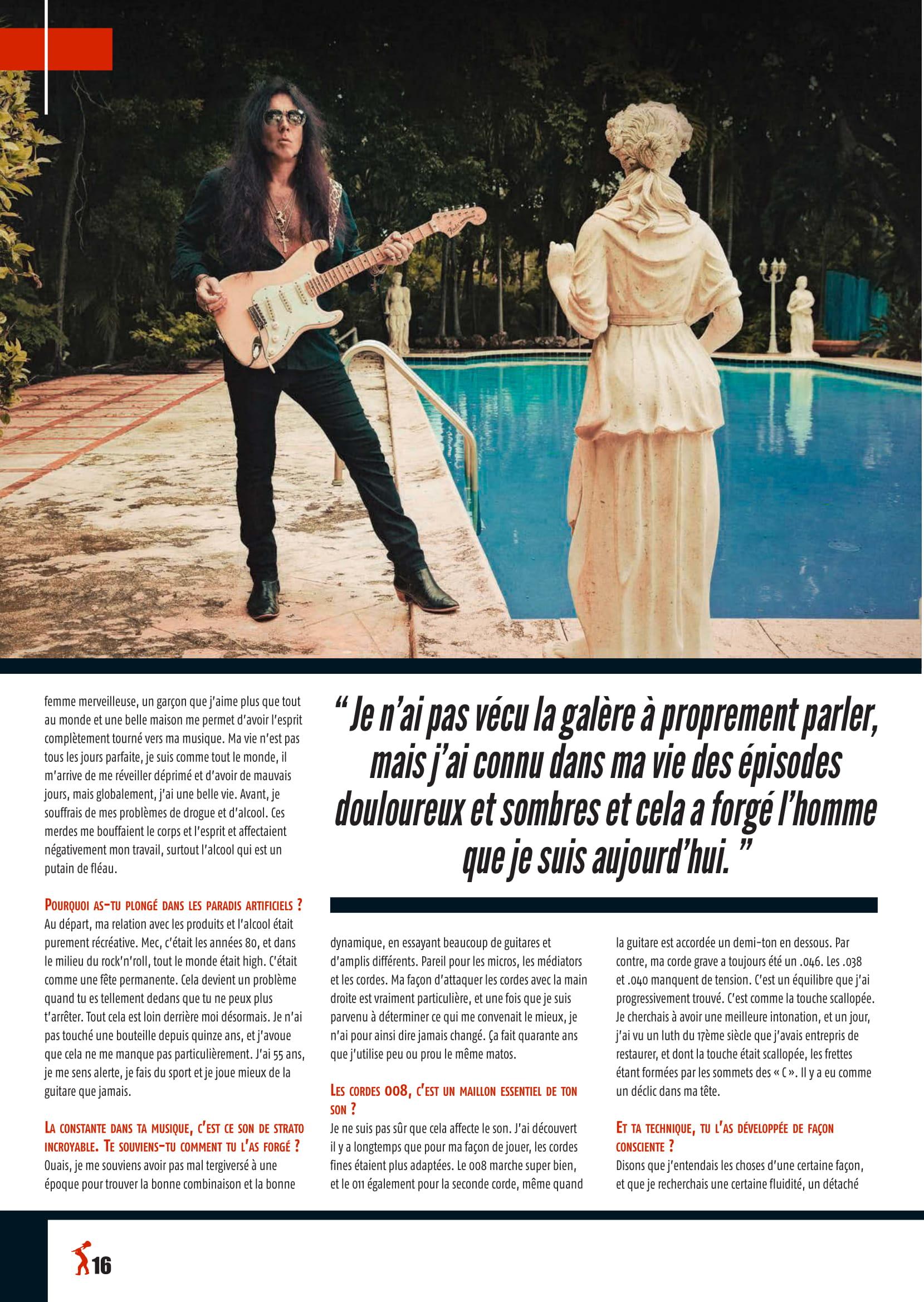 Yngwie Malmsteen fracasse ses guitares ... 2019-019