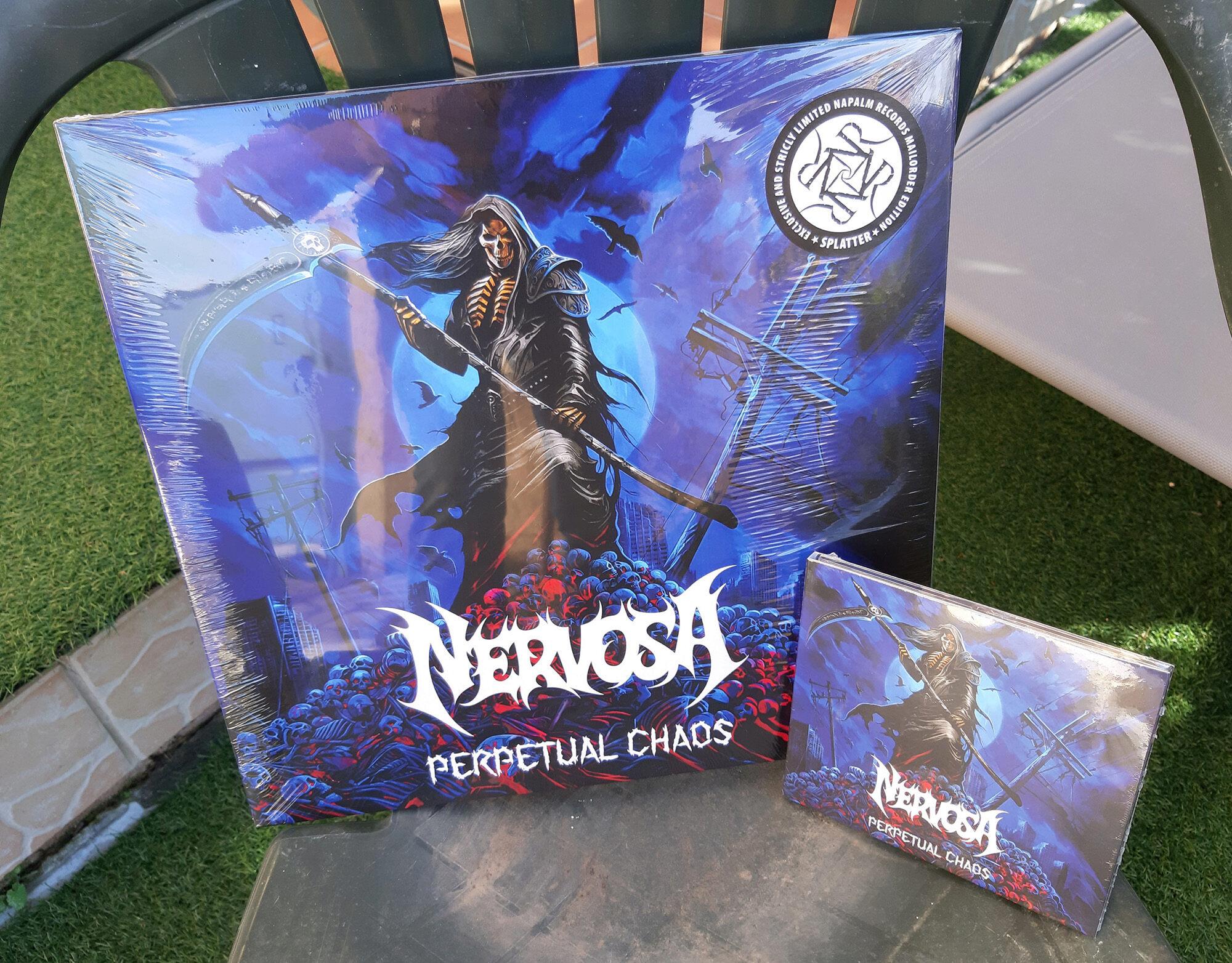 NERVOSA Perpetual Chaos (2021) Thrash Metal Brésil 20210115