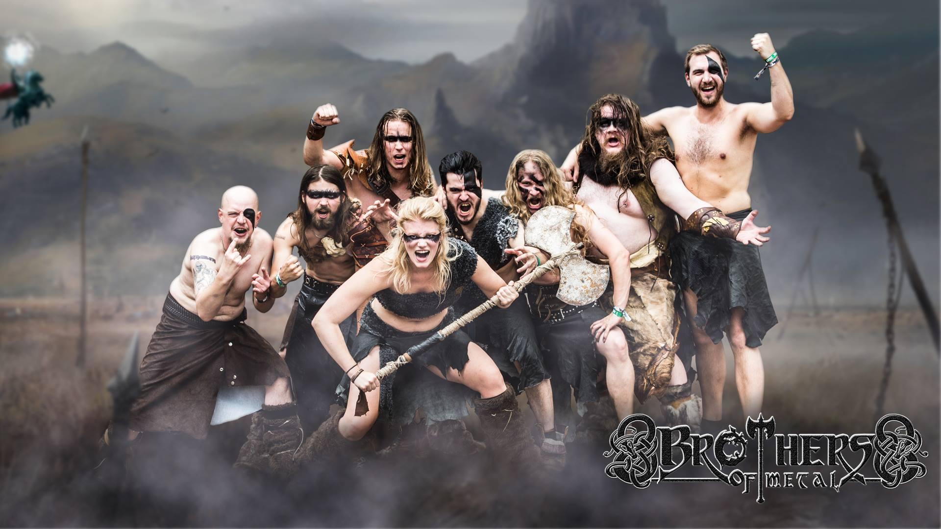 BROTHERS OF METAL Prophecy of Ragnarok (2018) True Heavy Metal SUEDE 20507211