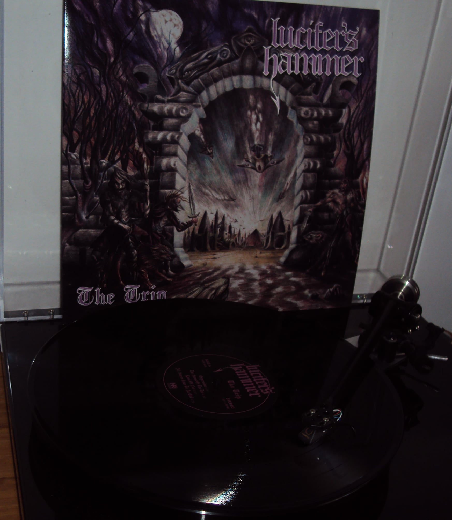 LUCIFER'S HAMMER The Trip (2021) Heavy Metal Chili 20690810